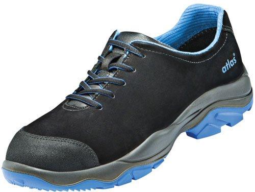 Chaussures basses de sécurité ESD SL 605XP Blue Large dans 10après en ISO 20345S3SRC de Atlas schwarz/blau