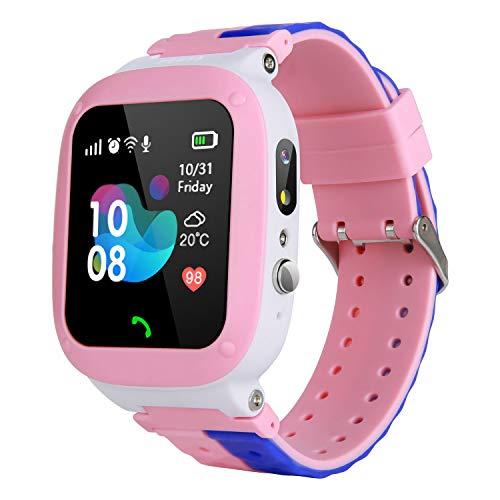 MeritSoar Tech Niños Smart Watch Phone - WiFi + LBS