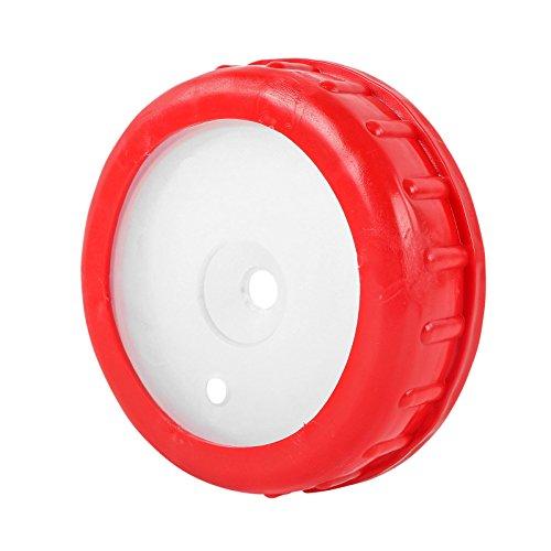 Schraubdeckel für DIN 96 Weithalskanister mit Kabel und Schlauchdurchführung - Wassertank Deckel