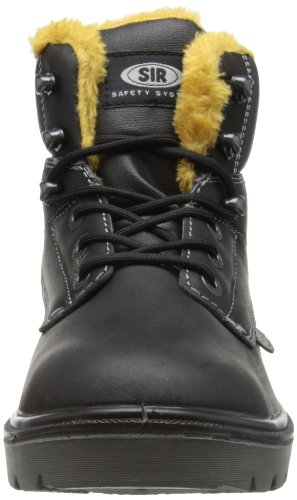Sir Safety Winter Road High, Bottes mixte adulte Noir - noir