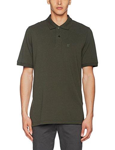 JP 1880 Herren Poloshirt Piquee, Grün (Oliv 44),2-XL (Oliv-grünes T-shirt)