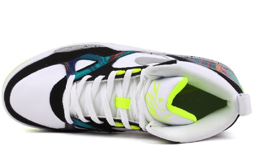 Nike Air Flight 13 Mid, Uomo Bianco / nero / multicolore