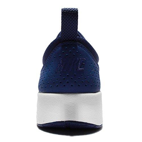 ... Baskets Nike Air Max Thea Prm De Nike, Femmes Marine Bleu-blanc ...