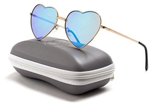 WearMe Pro - Hochwertiges Klassisches Modedesign Polarisierende Gläser Piloten Sonnenbrille