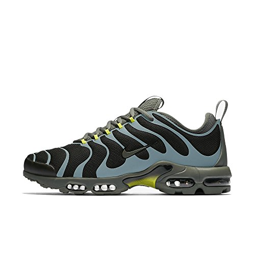 Nike Air Max Plus TN Tuned Ultra 875844-100 Blanco/Pálido Gris/Blanco/Foto Azul - Black/River Rock/Brillante Cactus, 39
