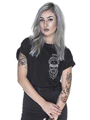 ELEVENCULT - Icarus Shirt - schwarz - Frauen Schwarz