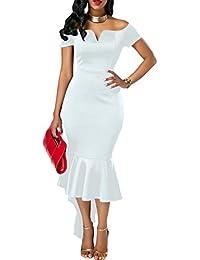 c9469308a08 Suchergebnis auf Amazon.de für  meerjungfrau kleid - Weiß  Bekleidung