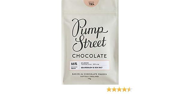 Pump Street Bakery Sourdough Sea Salt 66 Dark Chocolate Bar