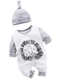 9c7eb0b7992f Fairy Baby Cute Baby Boy Outfits Baby Grows Long Sleeve Romper Suit  Jumpsuits with Hat
