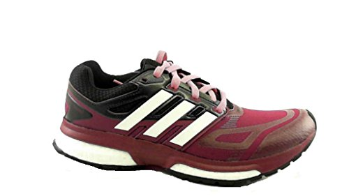 adidas Response Boost Techfit w Damen Laufschuhe schwarz