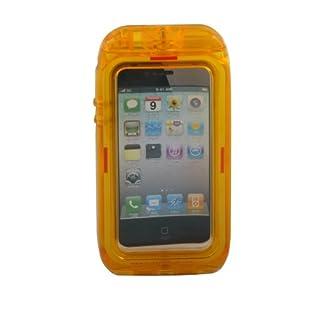 Aryca WS13O Wave 2 Waterproof Case iPhone 4/4S - 1 Pack - Retail Packaging - Orange
