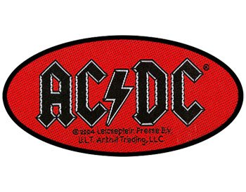 AC/DC - Woven Patch - Oval Logo