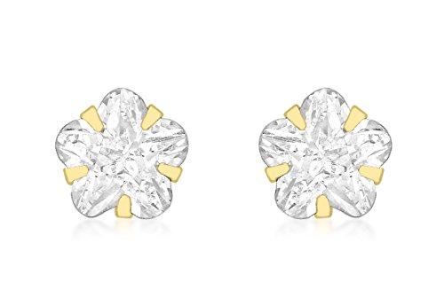 Carissima Gold - 1.58.8089 - Boucles d'oreille Femme - Or Jaune 375/1000 (9 Cts) 1.75 Gr - Oxyde de Zirconium