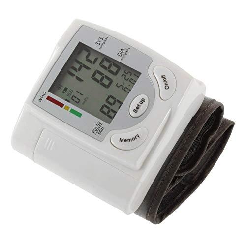Monitor-Blutdruck-Ober Handgelenk-Blutdruckmessgerät Für Den Heimgebrauch Mit Großer LCD-Display Lrregular Herzschlag-Detektor Pulse Meter Health Care Tonometer Große Stulpe (Health Handgelenk Monitor)