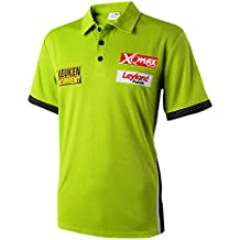 XQ-Max Herren 2017 L Michael Van Gerwen Replica Shirt 2017 Large, Grün, L