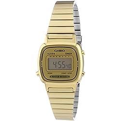 Reloj Mujer Correa de Acero Inoxidable LA670WEGA-9EF