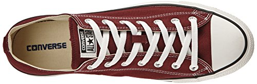 Converse Chuck Taylor All Star Core Ox, Baskets mode homme Rouge Bordeaux