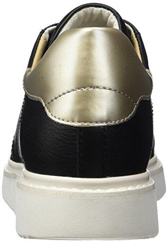 Geox Damen D Thymar A Sneakers Schwarz (Blackc9997)