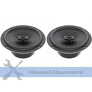 Hertz Lautsprecher CX165 420 Watt 165 mm Koax für VW Golf 7 (AUV) Variant ab 2013 Einbauort: Türen vorne/hinten