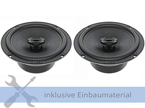 Hertz Lautsprecher CX165 420 Watt 165 mm Koax für Toyota RAV 4 MJ ab 2018 Einbauort: Türen vorne