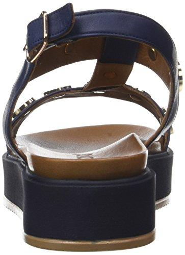 Senhoras Pulseira Tornozelo De Azul Inuovo marinha 7282 dtqnZ
