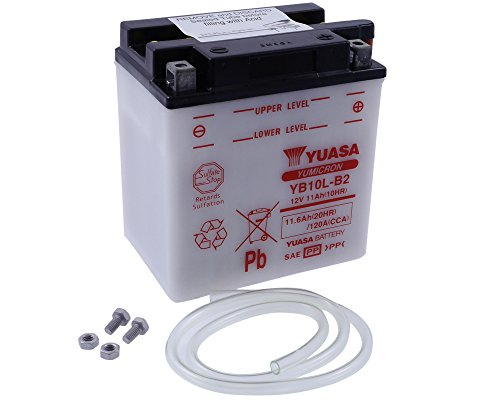 Batterie YUASA-yb10l-b2Für Suzuki GS500, F 500ccm Baujahr 01-07