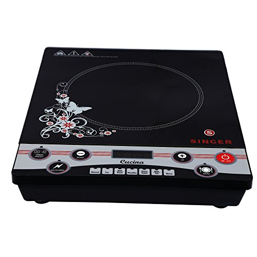 Singer Cucina Sik7pbcbt Induction Cooktop (black)
