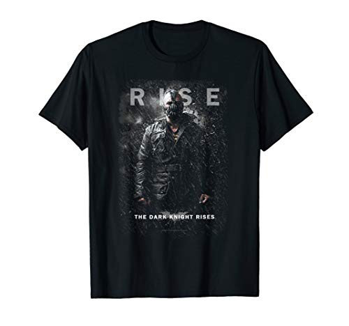 Batman Dark Knight Rises Bane Rise T Shirt (Bane Dark Rises Knight)