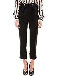 3484f18517 Amazon.it: con - Elisabetta Franchi / Pantaloni / Donna: Abbigliamento