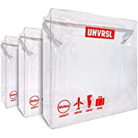 Travel Toiletries Bag x3 Cabin Luggage Packing Cubes for Suitcases Liquid Bag Travel Toiletries Make up Storage Carry Suitcase Clear Toiletries Bag Liquids Bag Clear Toiletries