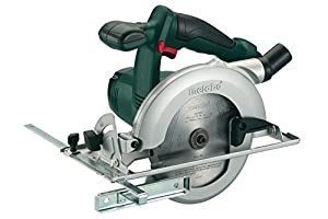 Metabo 602268840 KSA18LTX 18 V Li-Ion Cordless Circular Saw with MetaLoc Case - Green