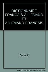 DICTIONNAIRE FRANCAIS-ALLEMAND ET ALLEMAND-FRANCAIS