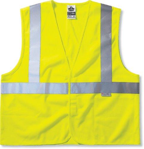Ergodyne Glowear® class-2Fire Wasserfeste Weste, lime, 8255HL 2 Traffic Safety Vest