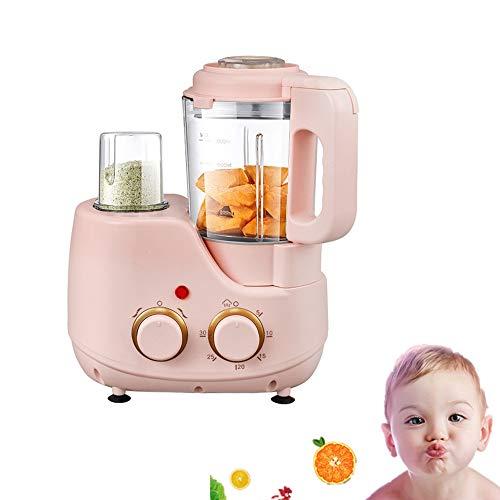 Angela Küchenmaschine für Babynahrung mit Dampfkorb, Mixer,