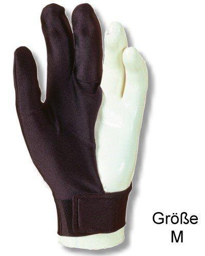 """Billardhandschuh LAPERTI , Größe """"M"""" mit Klettverschluß, für die linke Hand"""