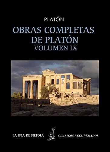 Obras completas de Platón, vol. IX. Las Leyes, tomo I, libros 1,2,3,4,5,6 (Siltolá, Clásicos Recuperados). por Platón