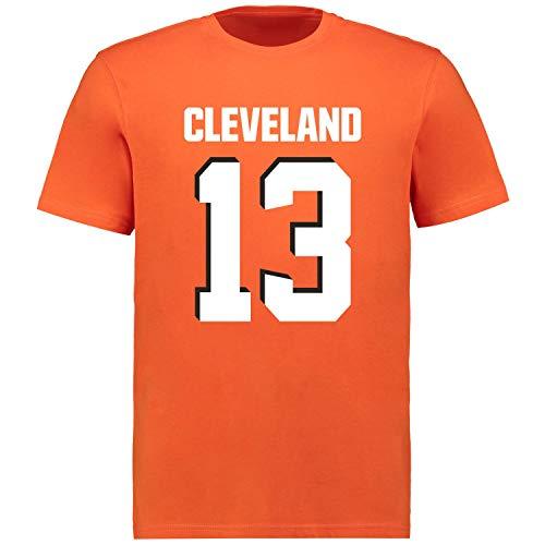 Fanatics NFL T-Shirt - Cleveland Browns Odell Beckham Jr. orange - S