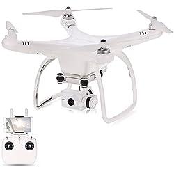 Goolsky Upair One Plus Cámara 16MP 4K Brushless 5.8G FPV Quadcopter 2-Axis Gimbal Fotografía aérea profesional GPS Drone RTF