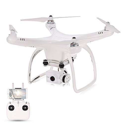 Goolsky Upair One Advantageously 16MP Kamera 4K Brushless FPV Quadcopter 2-Achsen Kardanische Professionelle Luftaufnahme GPS Drone RTF