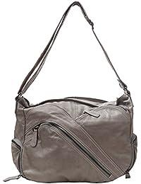 Damen Schultertasche, Umhängetasche , Shopper (41/ 30/16) echtes Leder Mod. 2012 by Fashion-Formel