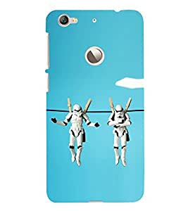 PrintVisa in The Air 3D Hard Polycarbonate Designer Back Case Cover for LeEco Le 1s :: LeEco Le 1s Eco :: LeTV 1S