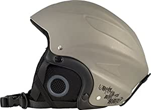 Trespass Sky High Snow Sport Helmet - Titanium, Medium