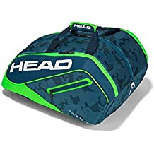 Head Tour Team Padel Paletero de Tenis, Blanco, S