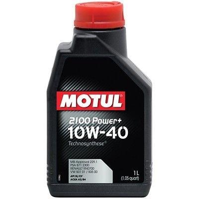Olio Motore Auto Motul 2100 Power+ 10W40 API SL/CF - 1 LITRO