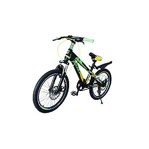 41sd1lu6NwL. SS300 Bicicletta per bambini 20pollici bicicletta per bambini gioco ruota verde Stem della bici con freni a disco