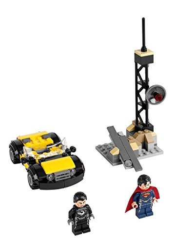 LEGO Super Heroes - Superman: Metropolis Showdown, Pack de Figuras de acción 76002