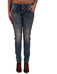 "Cipo & Baxx Damen Jeans ""CBW-0347"" blue blau"