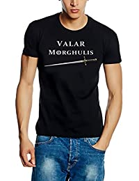 Valar Morghulis T-shirt S M L XL XXL 3X L 4X L 5X L, schwarz-, 4XL