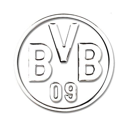 Borussia Dortmund Autoaufkleber / Aufkleber / Sticker silber BVB 09 plus gratis Aufkleber forever Dortmund