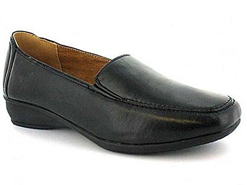 Femmes Dr Keller Lainey Brun/ Elaine Beige Crocodile Coupe Large Semelle Plate Confort Décontracté Taille De Chaussure 4-9 Black Eee